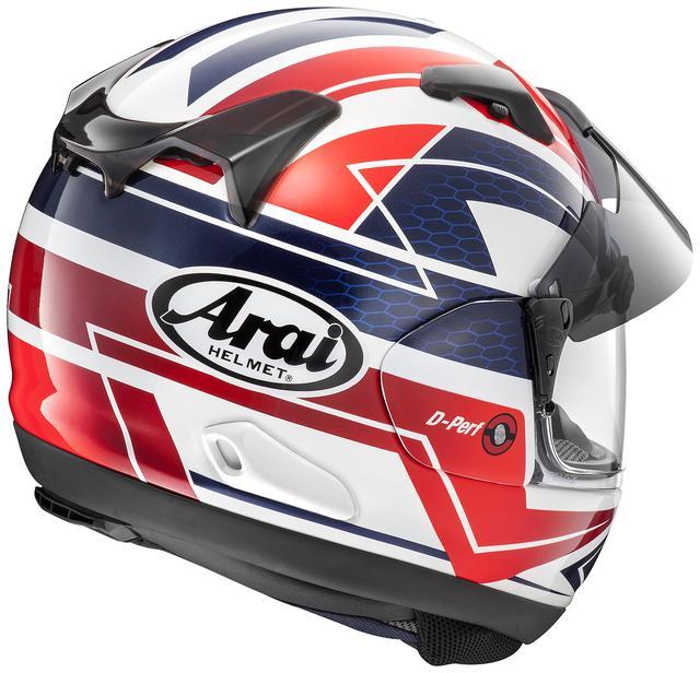 画像2: アライヘルメット ASTRAL-X CURVE(RED) ■価格:6万2640円(税込)