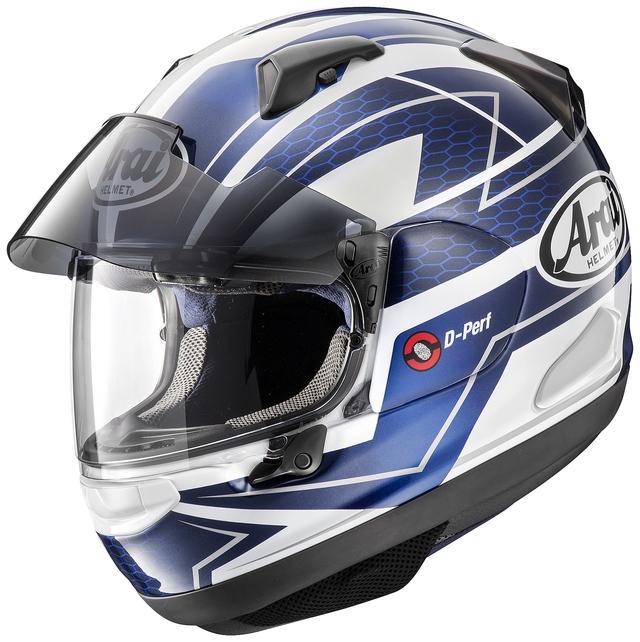 画像1: アライヘルメット ASTRAL-X CURVE(BLUE) ■価格:6万2640円(税込)