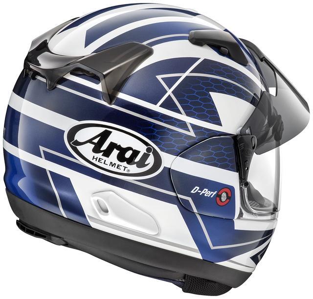画像2: アライヘルメット ASTRAL-X CURVE(BLUE) ■価格:6万2640円(税込)