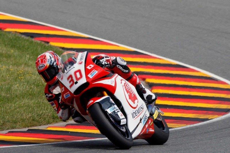 画像: <Moto2>中上がドイツGPでポールポジションを獲得!