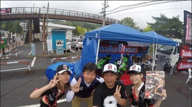 画像: 左から内山愛優ちゃん、ナカムラ、辻野さん、森江由衣ちゃん。