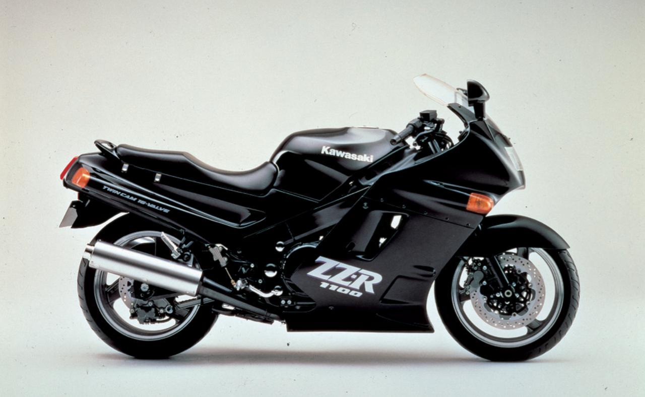画像: ZZR1100 C型の系譜