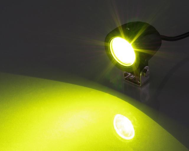 画像: 補助灯としても使えるイエローは3300円+税。