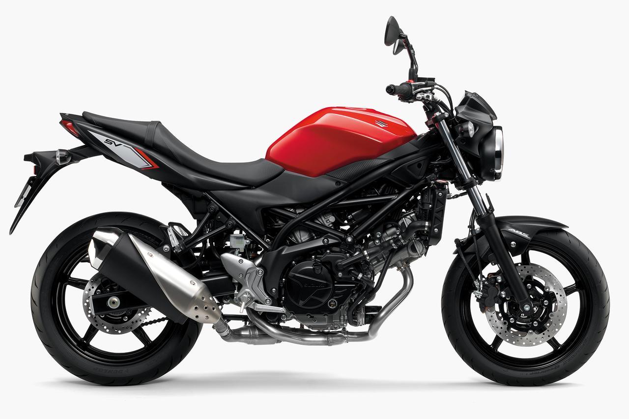 画像1: スズキが650cc Vツインエンジンのロードスポーツバイク  新型「SV650 ABS」を発売