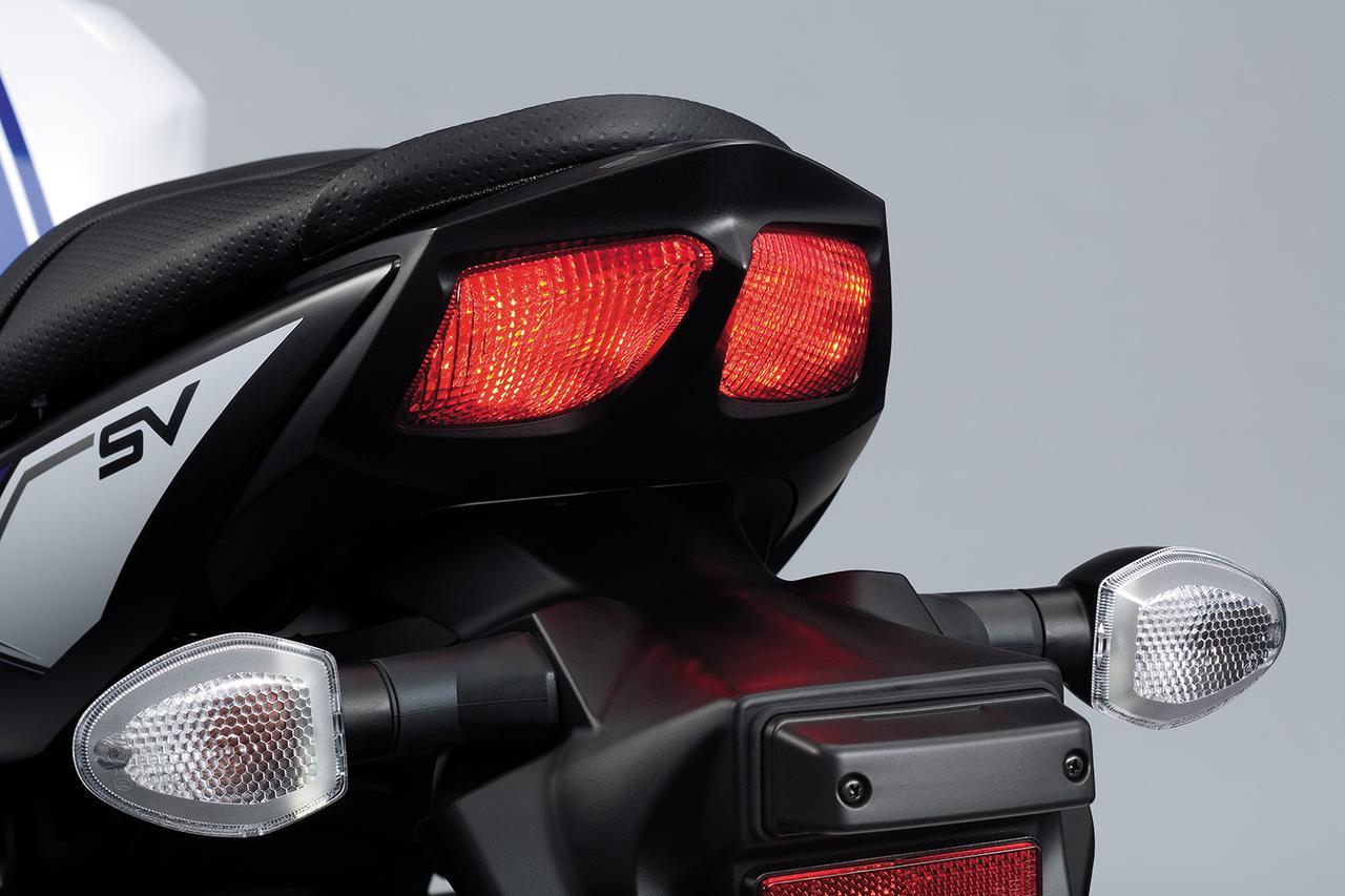 画像: テールランプはLEDを採用。高い被視認性を確保している。
