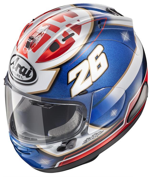 画像1: MotoGPライダー、D・ペドロサ選手の新型レプリカヘルメットが発売に!