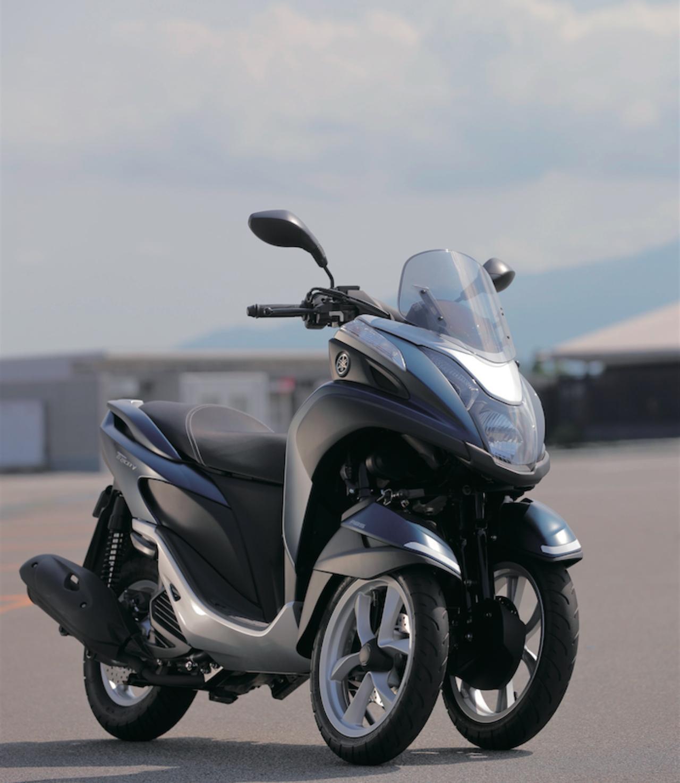 画像: YAMAHA TRICITY125/ABS 最高出力:11PS/9000rpm 最大トルク:1.0kg-m/5500rpm 価格:35万6400円(ABSは39万9600円)