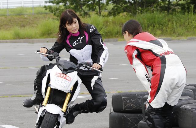 画像3: <ミニバイク部・イラレポ!>私をサーキットに連れてって