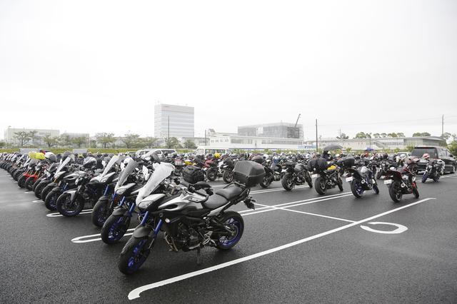 画像2: 悪天候にも関わらず、大勢のMTオーナーが集結!