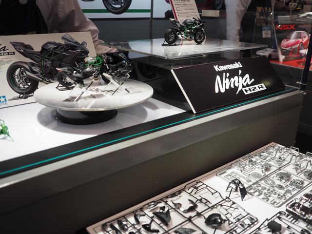 画像: 1/12 Kawasaki Ninja H2R、12月発売予定、4,000円(税別)。