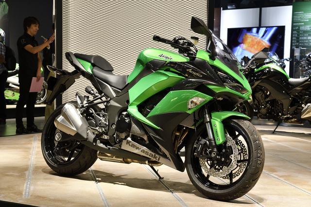 画像: こちらも大注目の「Ninja 1000 ABS」。