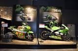 画像: カワサキのモータースポーツシーンを代表するモデルも展示中。