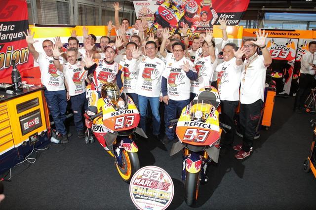 画像: GP125、moto2を1回ずつ、そして3度目のMotoGPと、計5回のワールドチャンピオンです!(写真/後藤 純)