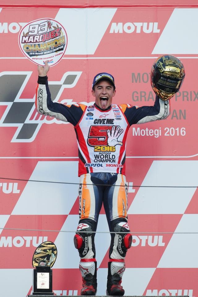 画像: 日本でチャンピオンを決めたのは2回目! 意外にもMotoGPでは日本GP初優勝です!(写真/後藤 純)