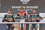 画像: 左からサイクス、デイビス、レイ。今シーズンの24レース中、23回はこの3人の誰かが勝ったってことです