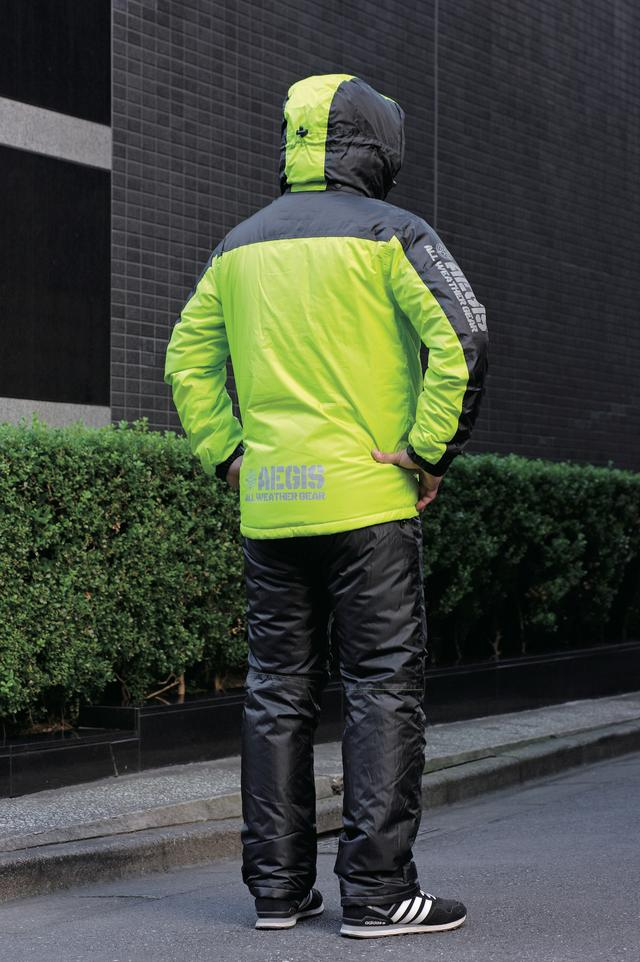 画像2: パンツの履き心地にこだわった防水・透湿の高機能防寒ウエア