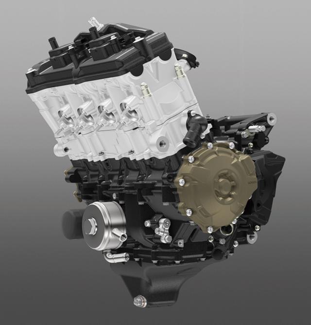 画像: 圧縮比のアップや吸排気系の見直し、バルブタイミングやカムリフト量の見直しなどで、従来型をベースとしたエンジンながら、実に11PS近いパワーアップを実現。パワースペックは実に191.76PSとなった。