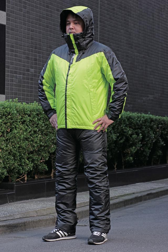 画像1: パンツの履き心地にこだわった防水・透湿の高機能防寒ウエア