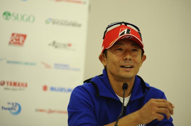 画像: 「他力本願だけど、レースやってる以上、チャンピオン狙ってんのは当然です!」(関口)