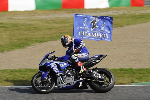画像: <全日本ロードレース> 中須賀やった!V7を5連覇で達成! ~レオン・ハスラムをやっつけた!~