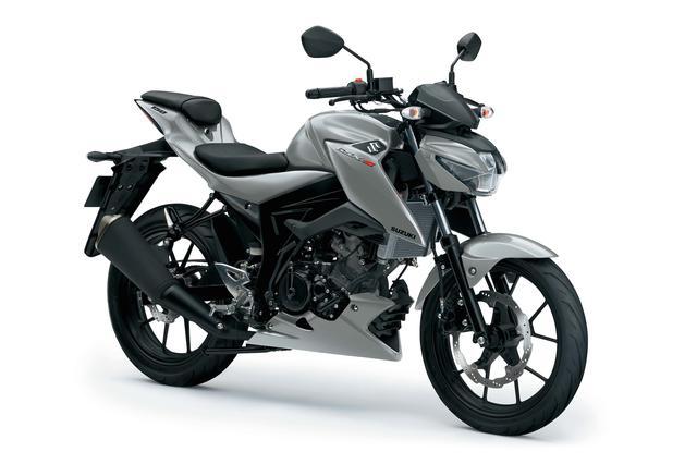 画像: インドネシアモーターサイクルショーで、アセアン地域向けモデルとして発表された「GSX-S150」。