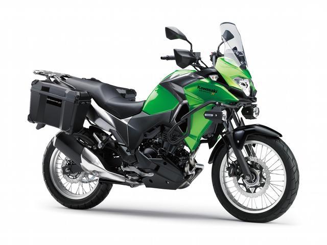 画像1: カワサキが「Versys-X 250 ABS 」を発表!