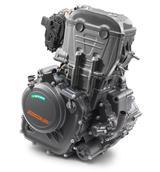 画像: こちらは390DUKEのエンジン。最高出力は44HPと発表されています。