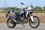 画像: CRF1000L Africa Twin Single & Slip-On|マフラー|アールズ・ギア[Fun to Ride]