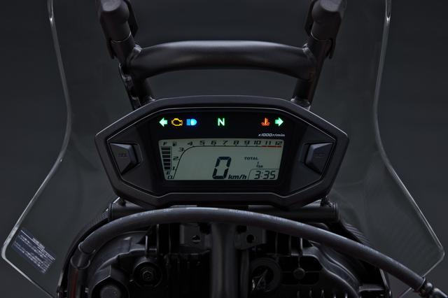画像: 写真はCRF250ラリーのメーター。これと同タイプのものが装着されます。