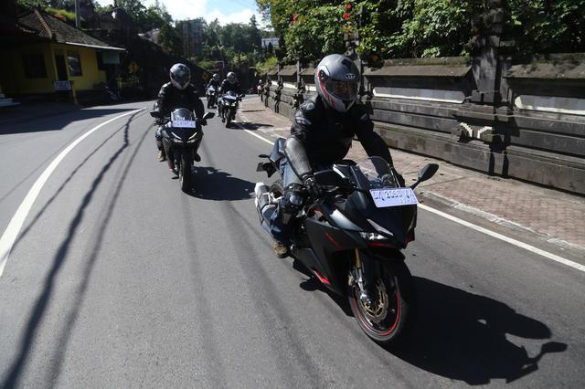画像: インドネシアの公道で開催された230kmのツーリング試乗会!