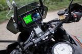 画像: ライダー インフォメーション システム:インストルメントを単一のデジタルディスプレイに統一、 スマートフォンとの統合が二輪車の運転状況に応じて自動的に適合