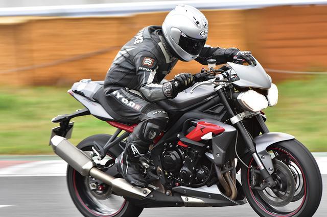 画像: タイヤを温めることに気を使うこともなく、それでいてハイグリップを発揮。趣味でスポーツ走行を楽しむ、自分のようなライダーにとっては、心強い選択肢です。