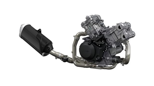 画像: 1,037cc水冷4ストロークDOHCV型2気筒エンジンは最大トルクに多少変更はあったものの、好評だった特性を維持しながら、ユーロ4に対応している。