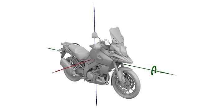 画像: 5軸慣性計測ユニット(IMU)を投入しコーナリングABSを装備。フロントブレーキ圧が一定以上加わると自動的にリアブレーキ圧を加え車体を安定させるシステムも装備。