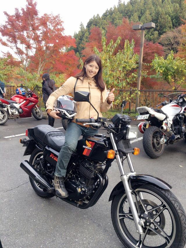画像3: ホンダドリーム世田谷主催...FT500でツーリング参加したよ!! (大関沙織)