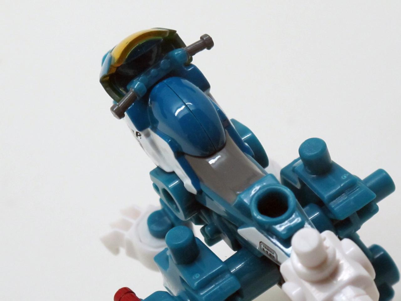 画像4: VFRとサポートメカが合体!