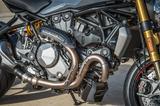画像: テスタストレッタ11°DS エンジンは低回転域からスムーズで力強く、最高出力は先代のMonster1200[EU仕様]よりも15hp アップの150hp を発生する。ユーロ4 規制にも適合している。