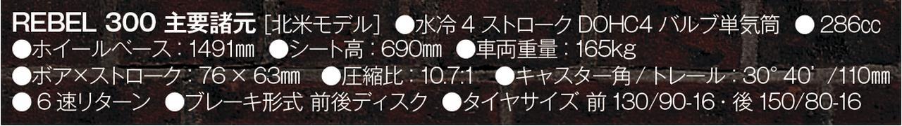 画像2: 300は日本国内でレブル250としてラインアップを計画