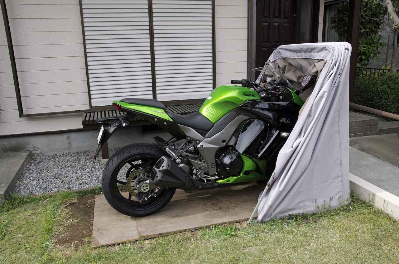画像2: 保護性能と防犯効果は『屋根付きガレージ』並み!