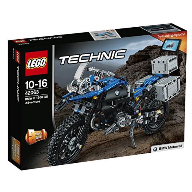 画像: Amazon | レゴ (LEGO) テクニック BMW R 1200 GS アドベンチャー 42063 | ブロック 通販