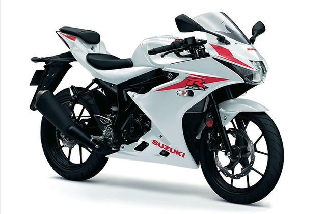 画像: SUZUKI GSX-R125 ABS ブリリアントホワイト