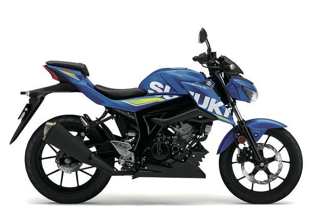 画像: SUZUKI GSX-S125 ABS メタリックトリトンブルー