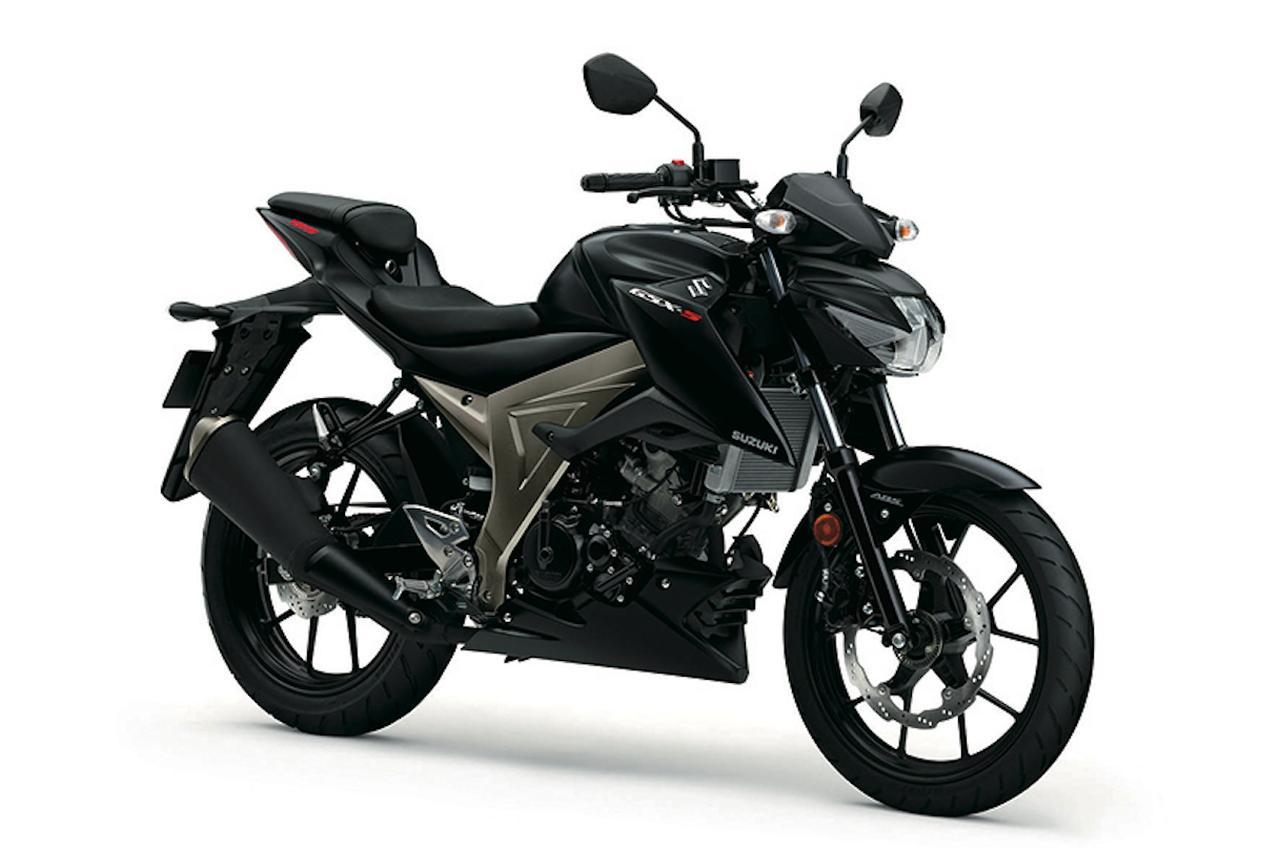 画像: SUZUKI GSX-S125 ABS ソリッドブラック50%グロス