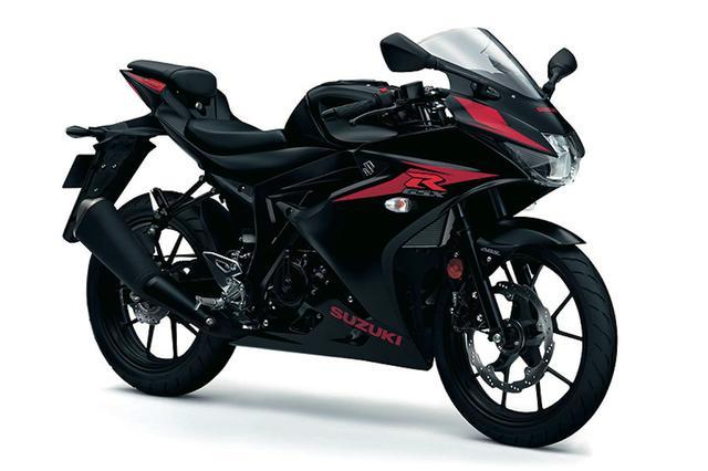 画像: SUZUKI GSX-R125 ABS ソリッドブラック50%グロス