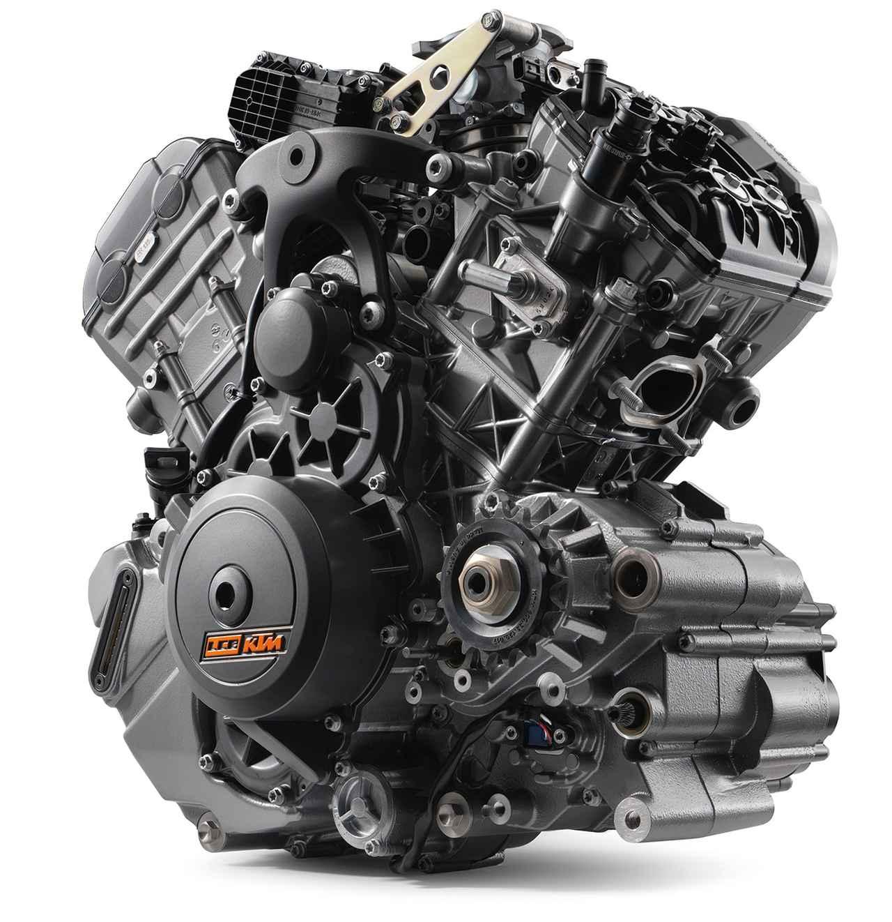 画像: LC8エンジンをパワーアップ