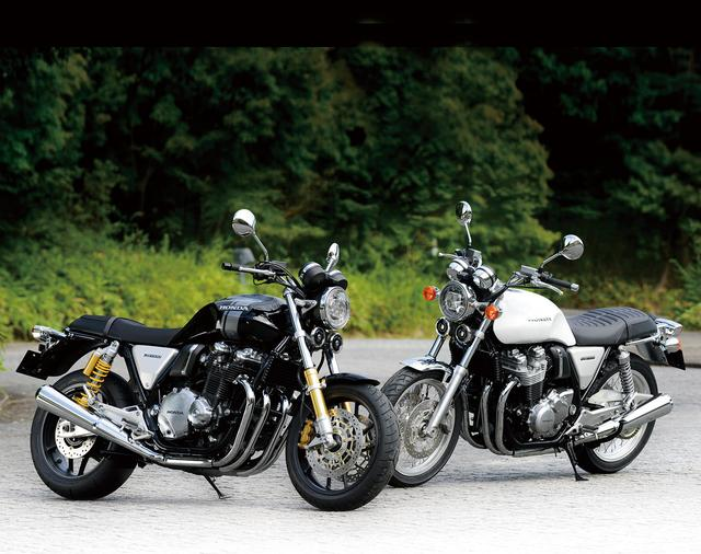 画像: HONDA CB1100RS(左)、HONDA CB1100EX(右)