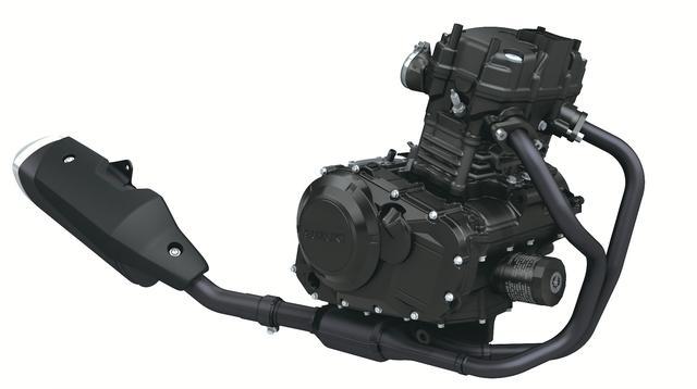 画像2: SUZUKI V-Strom250 水冷4ストロークSOHC2バルブ並列2気筒エンジン