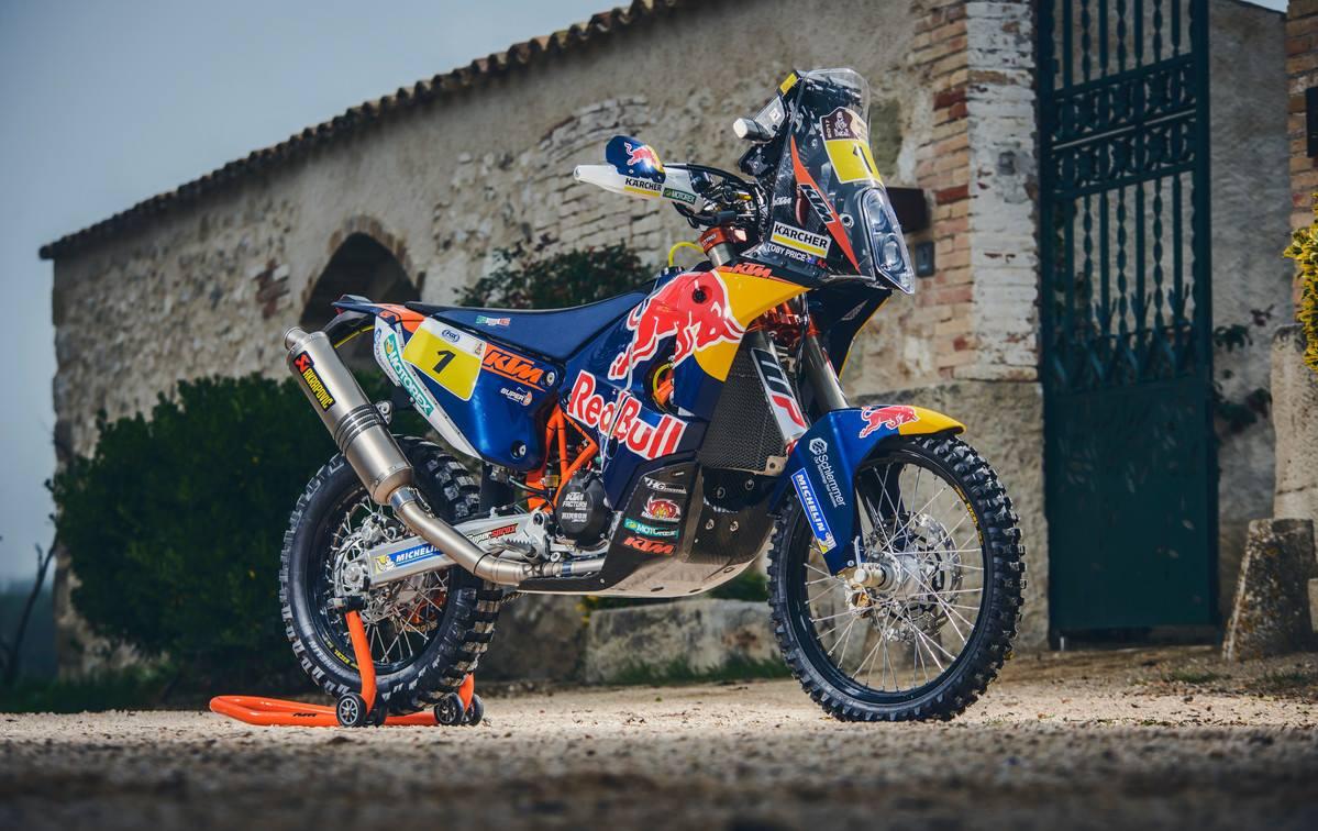 画像: KTMの450ラリー。現代ラリーの最強マシンです!