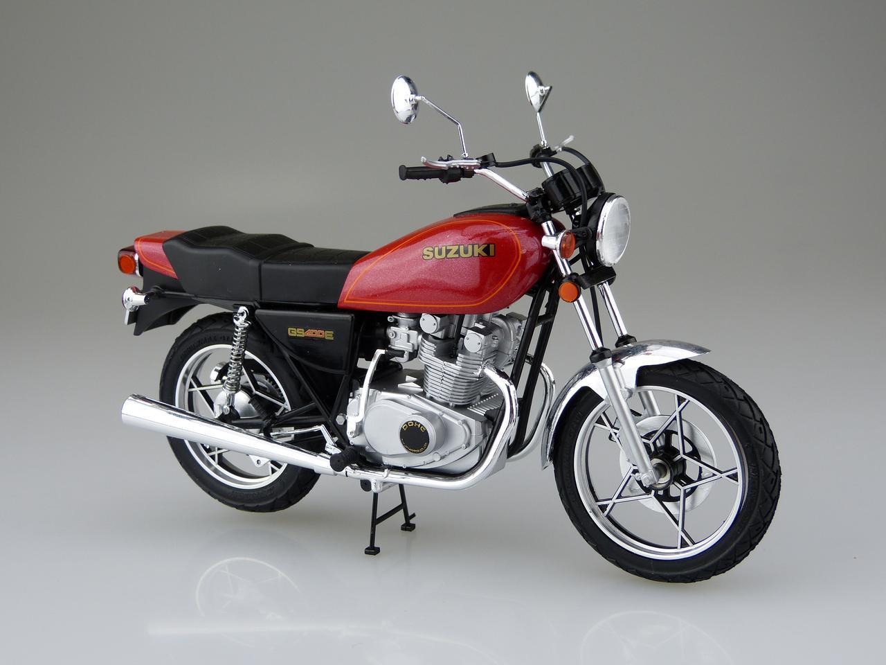 画像1: 1/12 バイク No.28 スズキ GS400E