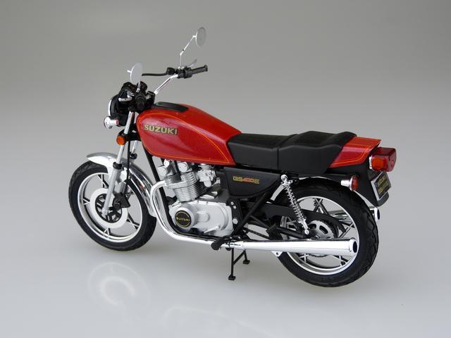 画像2: 1/12 バイク No.28 スズキ GS400E